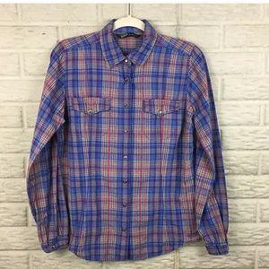 Woolrich Pearl Snap Button Down Shirt